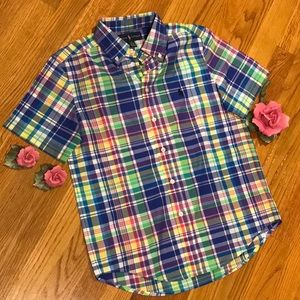 Colorful polo half sleeve shirt by Ralph Lauren